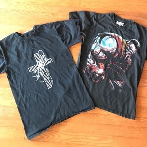 Other - Lot of 2 adult small graphic t-shirts